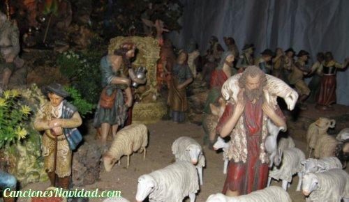 Los pastores a Belén