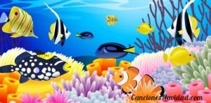 peces rio navidad villancico cancion
